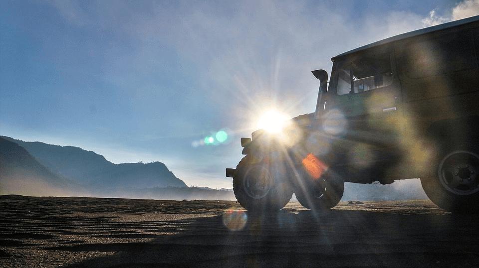 Jeep au Volcan Bromo