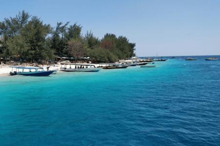 Plage de Lombok Gili Trawangan