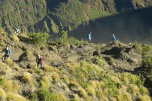 Ascension du volcan Rinjani à Lombok