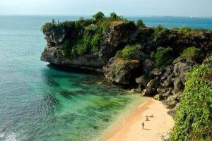 La plage de Balangan à Bali
