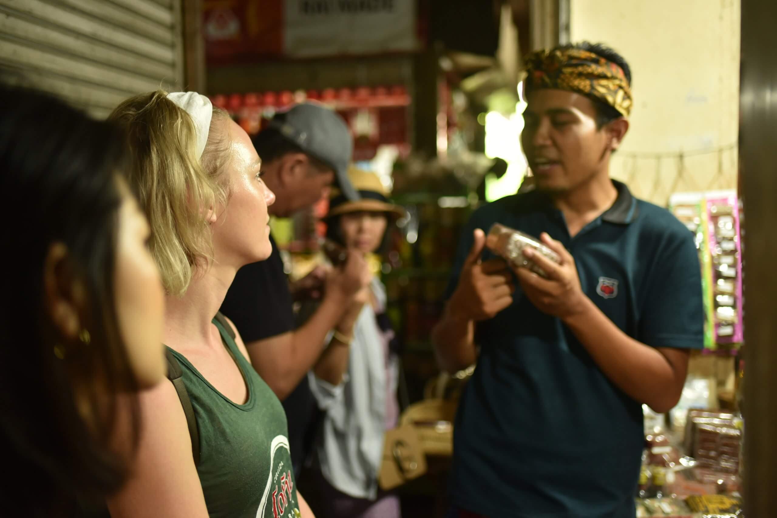 Marché aux legumes de Bali