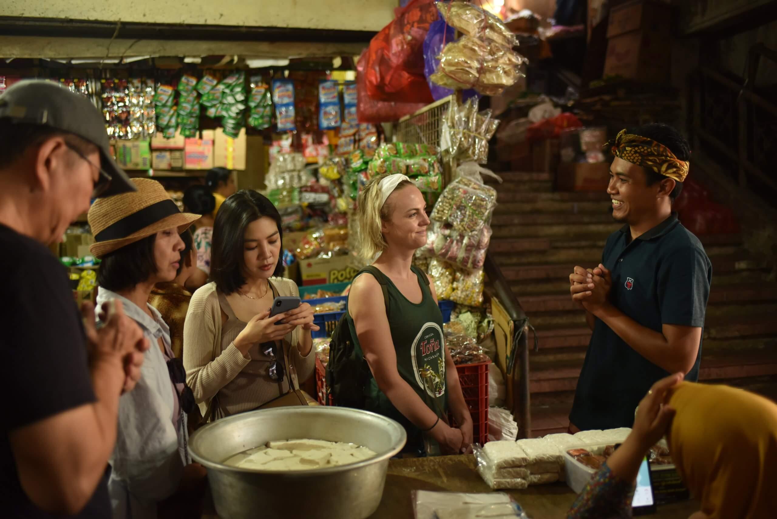 Marché culinaire de Bali