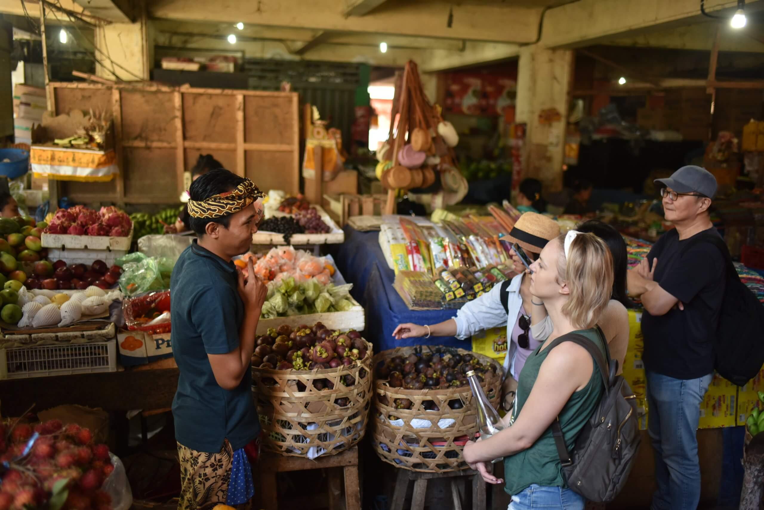 Marché aux légumes de Bali
