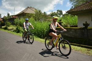 Ballade en vélo sur Ubud à Bali