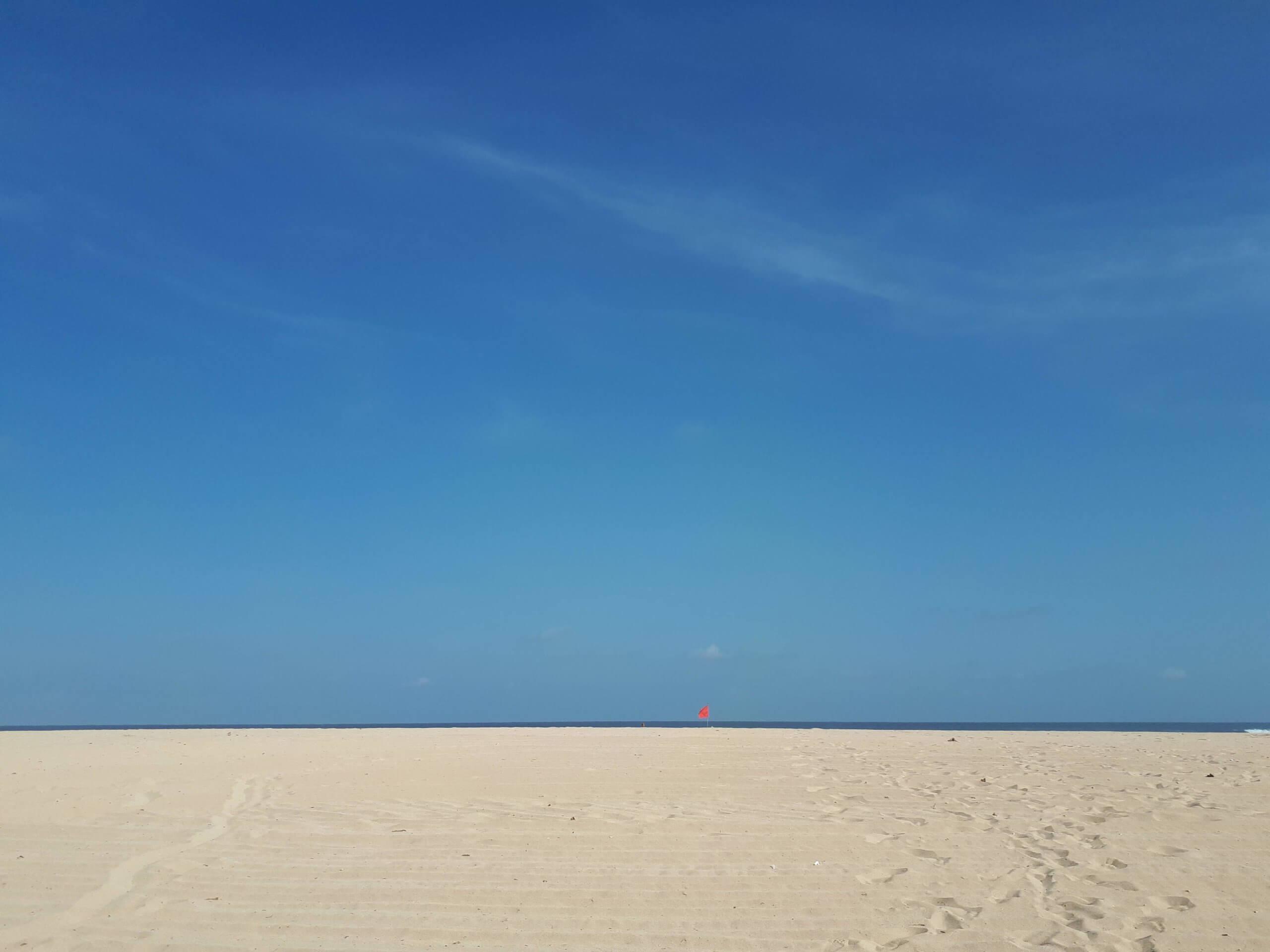 horizon lointain à Bali