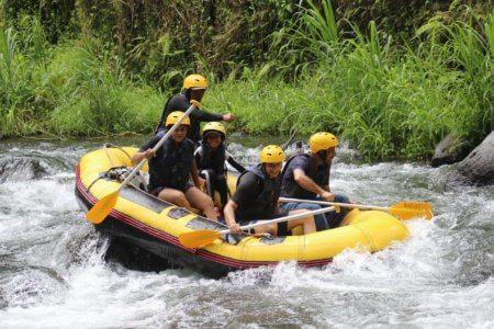 Rafting, Sidemen, Bali