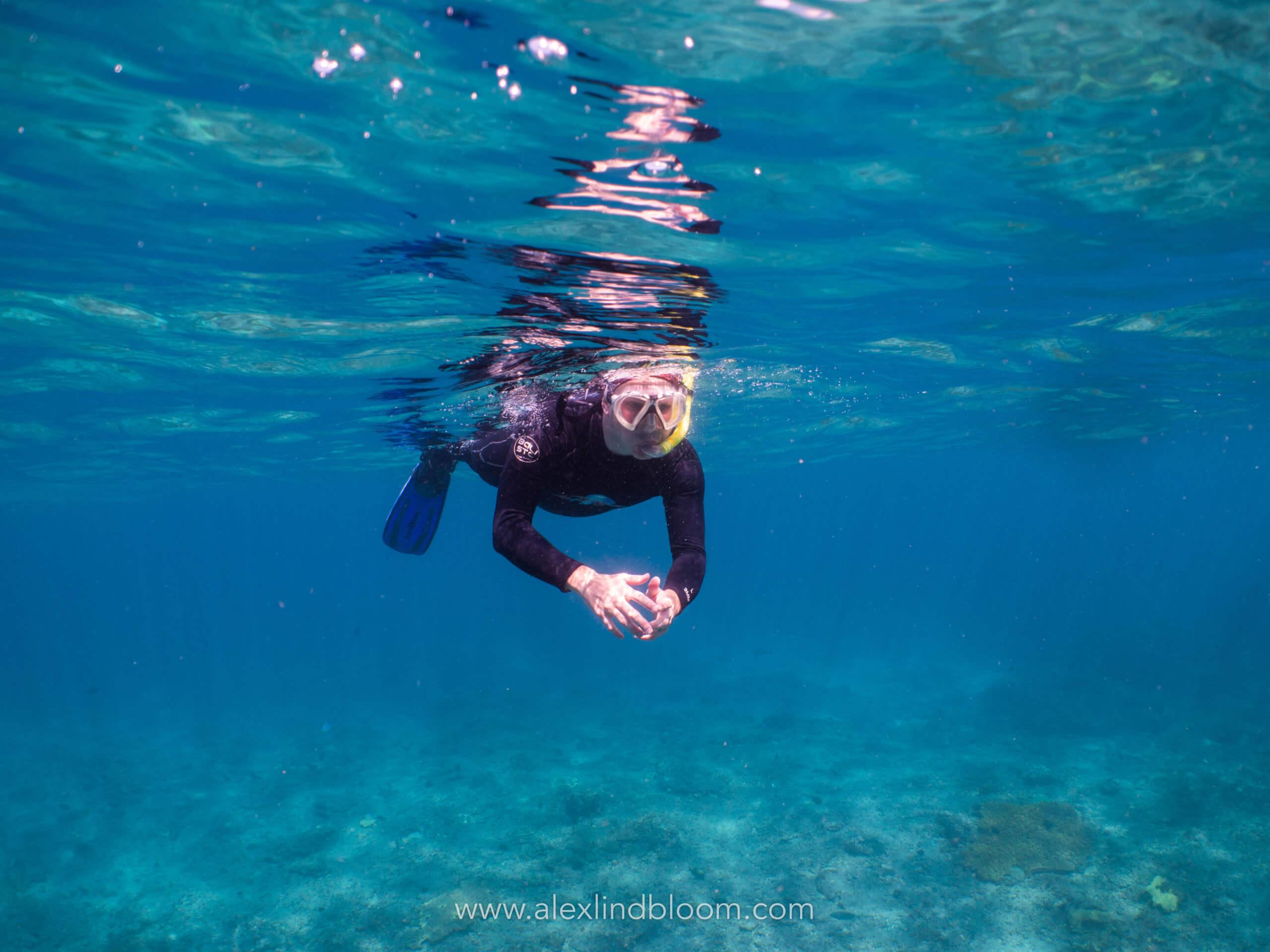 Snorkling à Bali