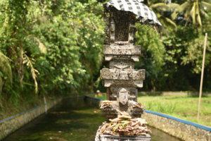Statue au temple Gunung Kawi