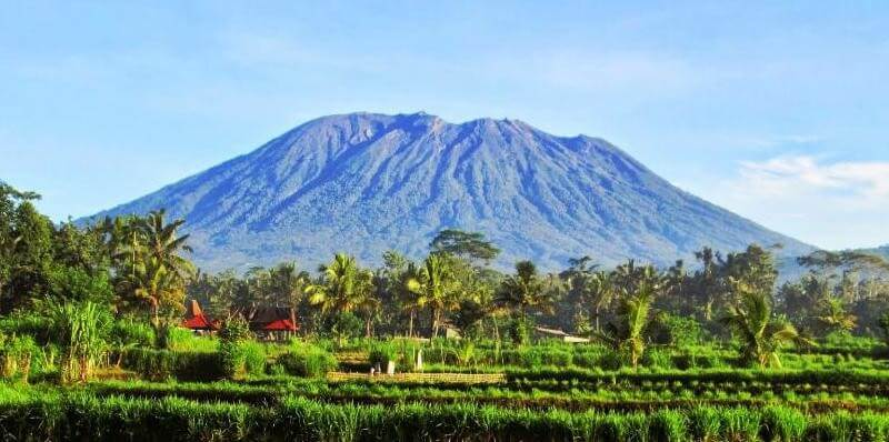 Volcan Agung à Bali Sidemen