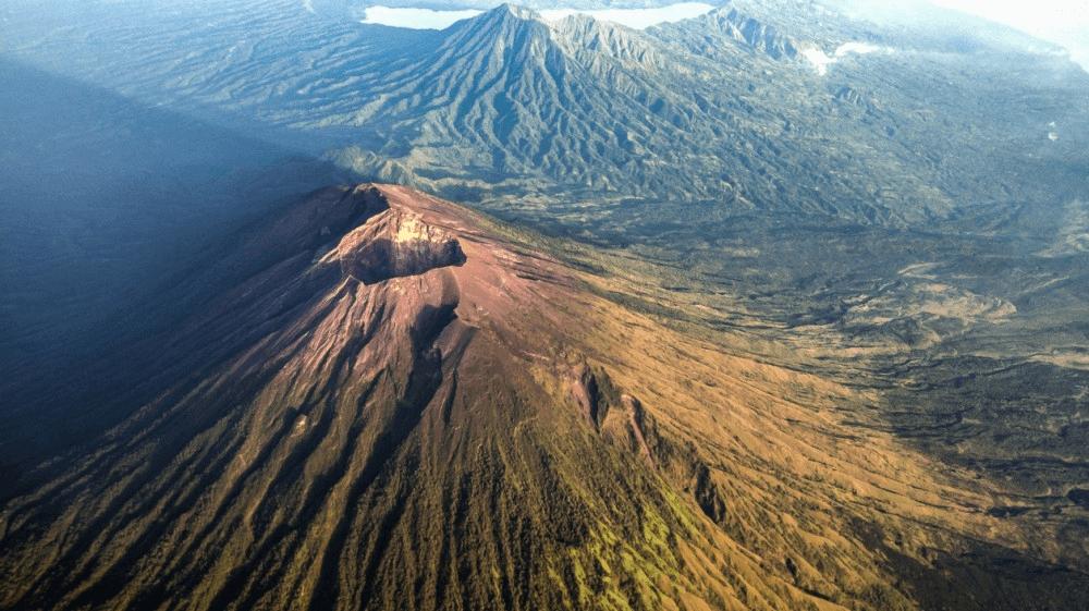 Le Mont Agung, volcan de Bali