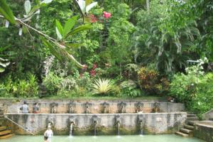 Bali Banjar source d'eau chaude