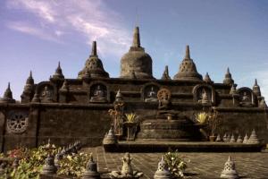 Le temple de Bali Brahma Wihara Arama