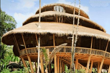 Ecole écologique à Bali