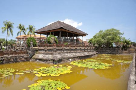 Bassin au temple de Bali Klungkung