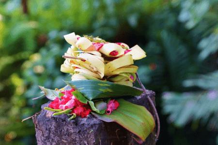 Les Offrandes à Bali