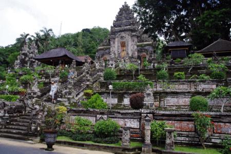 Temple de Pura Kehen à Bali