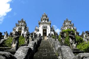 Le temple de Pura Lempuyang à Bali