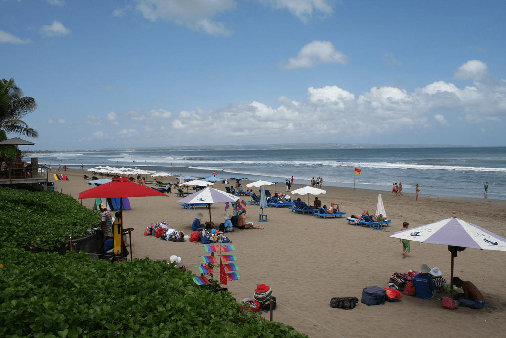 Front de mer plage de Seminyak à Bali