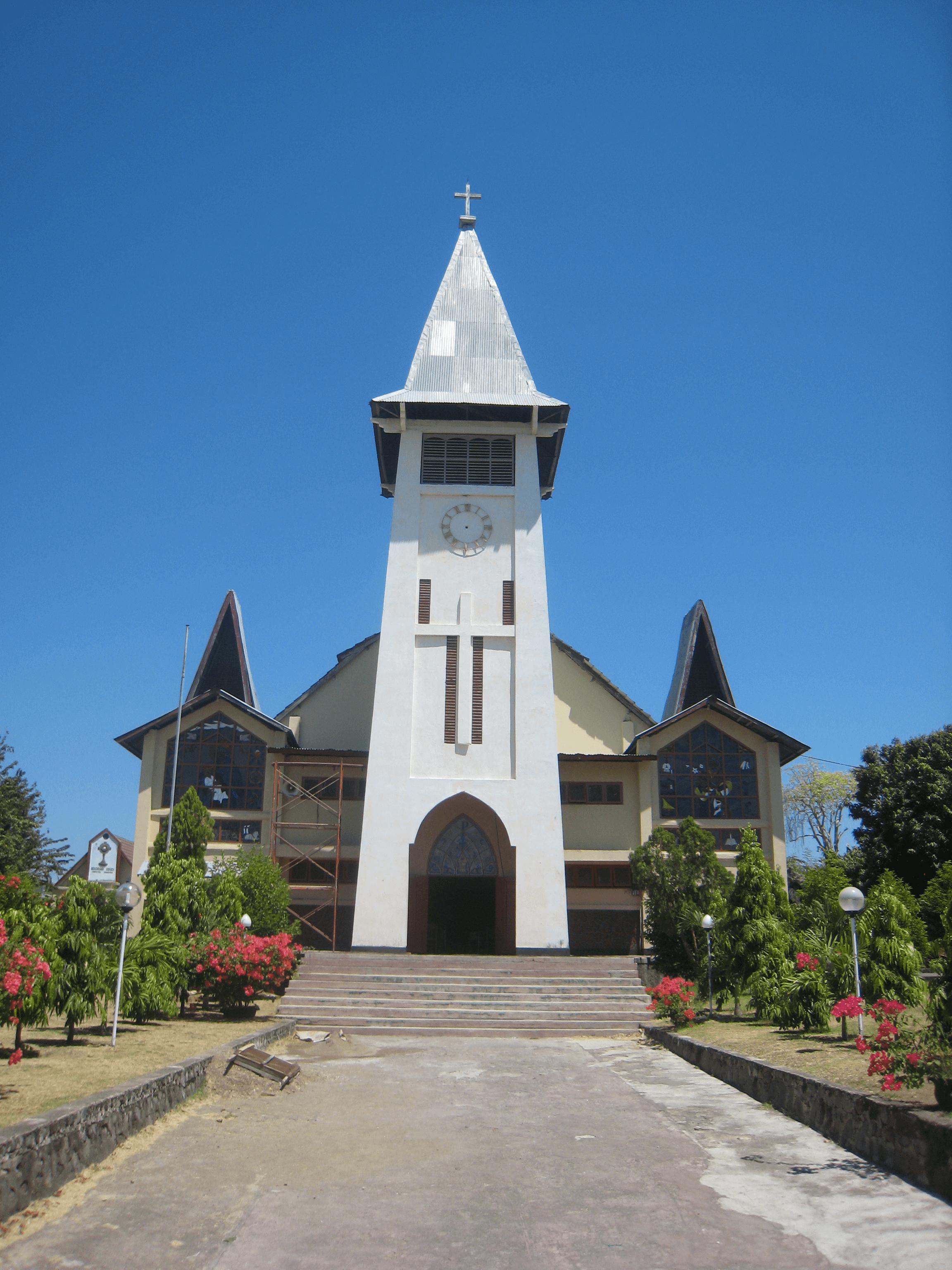 Eglise de Maumere à Flores