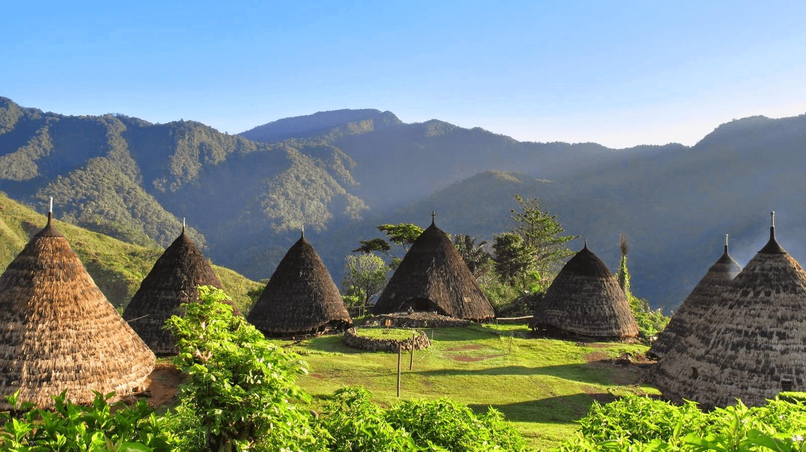 Village traditionnel de Waerebo sur l'ile de Flores