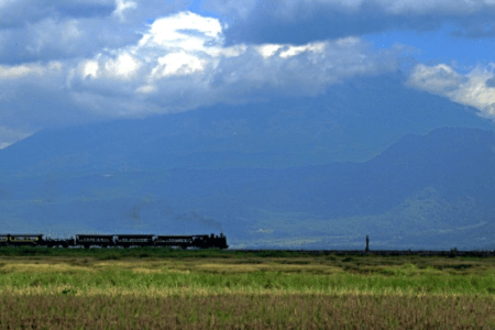 Locomotive du musée ferroviaire d'Ambarawa