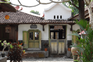 Village de Borobudur à Java