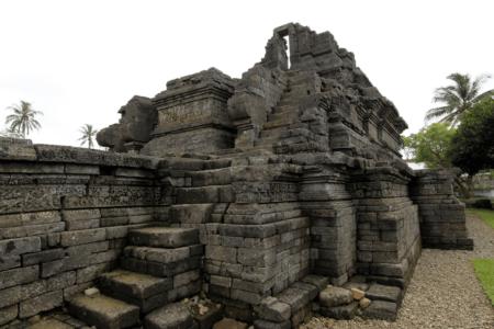 Temple de Jogo près de Malang sur l'île de Java en Indonésie