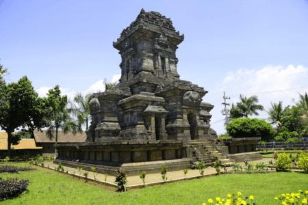Temple de Singosari près de la ville de Malang sur l'île de Java en Indonésie