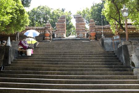 Cimetier d'Imogiri à Yogyakarta au centre de l'ile Java