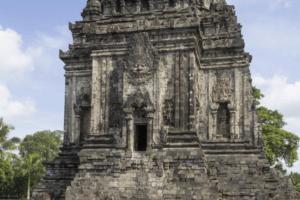 Temple Candi Kalasan dans la région de Yogyakarta à Java