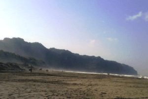 Plage de Parangtritis dans la region de Yogyakarta