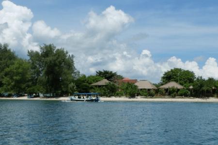 Ile de Gili Sudak au sud-est de Lombok en Indonésie