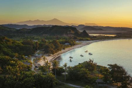 Panorama Kuta lombok