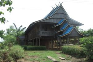 Maison traditionnelle Bugis sud Sulawesi