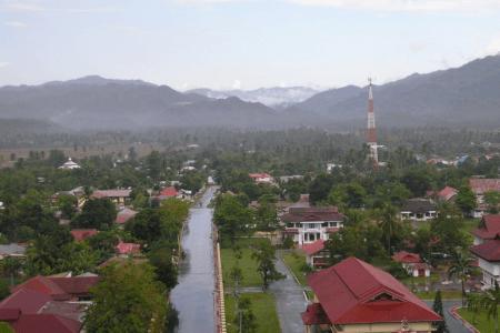 Gorontalo au nord de la Sulawesi