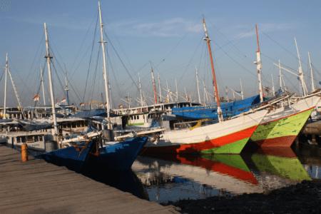 Vieux port de Makassar Pelabuhan Otere sud Sulawesi