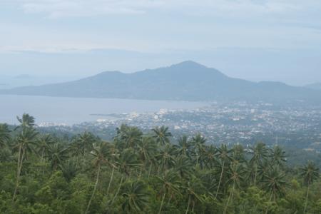 Ville de Manado nord Sulawesi