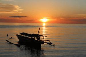 Indonesie Togian Coucher soleil