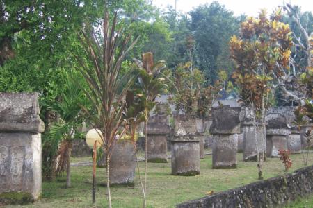 Site Archéologique magalhitique de Waruga Sawangan nord de Sulawesi