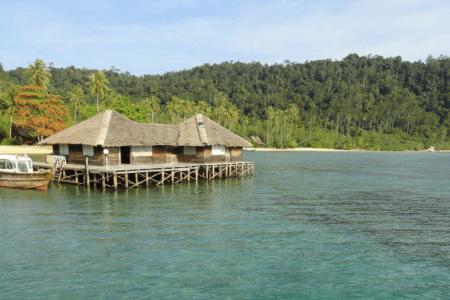 Ile de Cubadak west Sumatra