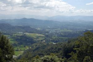 Panorama Tabek Patah à Bukttinggi west Sumatra