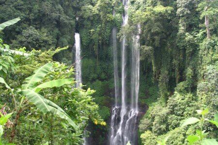 Cascades de Munduk à Bali