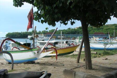 Padang bay à Bali