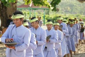 Ceremoni village de Batu Beleq à Lombok