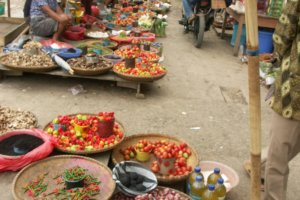 Marché Toraja de Rantepao sud Sulawesi