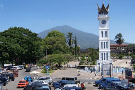 Ville de Bukit Tinggi à Sumatra