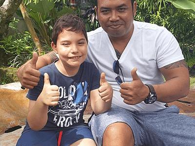 Voyageur junior Archipel360 et son guide