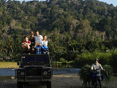 Voyageur Archipel 360 à Sukamade dans le parc de Meru Betiri sur l'île de Java