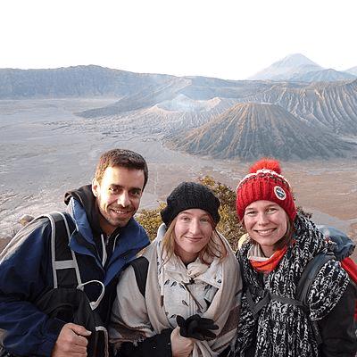 Voyageurs Archipel360 au Bromo à Java en Indonesie