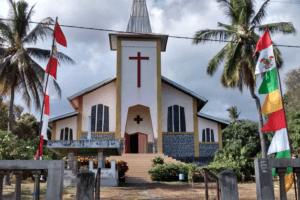 Eglise Catholique d'Aimere à Flores